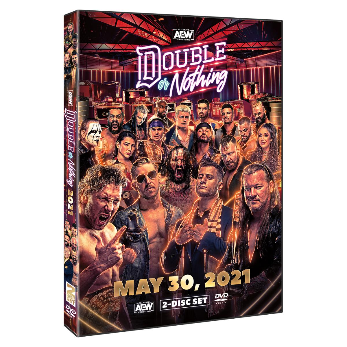 Official All Elite Wrestling DVDs