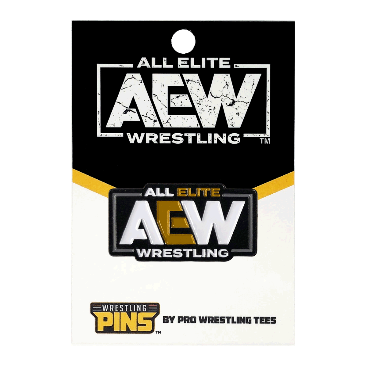 Aew Logo Wrestling Pin