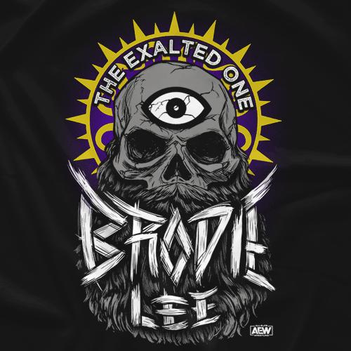 All Elite Wrestling Brodie Lee T-shirt S-3XL Brodie Lee shirt Bearded Skull