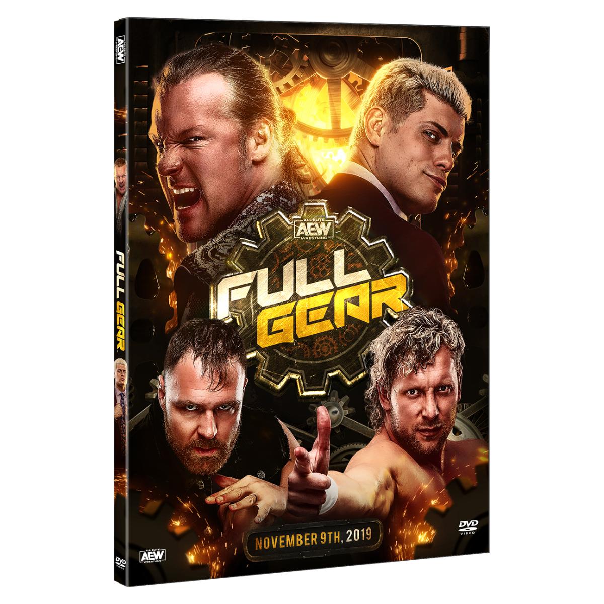 Full Gear November 9 2019 DVD